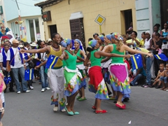 There were well over 100 representatives from the Caribbean island of Curacao and they were extremely entertaining
