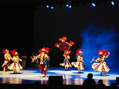 Brazilians performing at Heredia Theatre for the 2010 Fiesta del Fuego