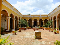 Courtyard complex of Museo Historico Municipal