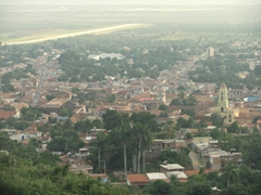 View of Trinidad after our hike up the hills overlooking the city