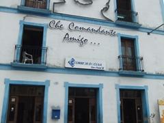 Che memorial at Plaza de los Trabajadores
