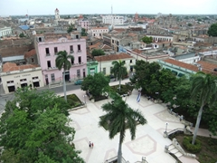 View of Camaguey from the 27 meter tall watch tower of Cathedral de Santa Iglesia