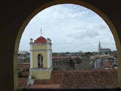 "View of Camaguey from the watch tower of the ""Museo de San Juan de Dios"""