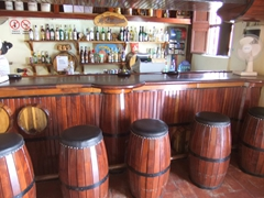 A welcoming bar at La Bodega