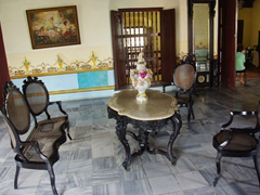 Beautiful antiques at Casa Natal Ignacio Agramonte, one of Cuba's most popular revolutionary heroes