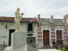 Statue of Marti in Parque Marti; Camaguey