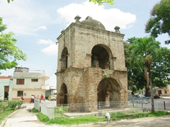 An old church tower; Bayamo