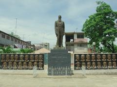 Bayamo's war memorial; Parque Retablo de los Heroes