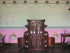 Dining room of Casa Natal de Carlos Manuel de Cespedes