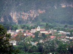 View of Vinales from Hotel Ermita