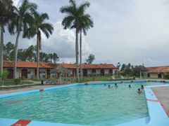 Non guests can use the Hotel Ermita's facilities for only 1 CUC, well worth it to swim in their inviting pool