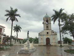 Town square in Vinales