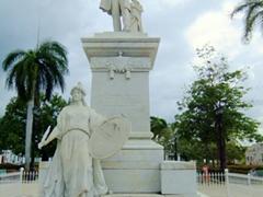 Statue of Jose Marti; Cienfuegos