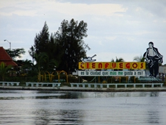 """""""Cienfuegos is the city I like best"""" is a famous quote of native singer Benny More"""