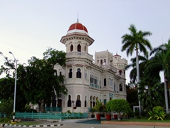 The Palacio de Valle (Valle's Palace) in Punta Gorda; Cienfuegos