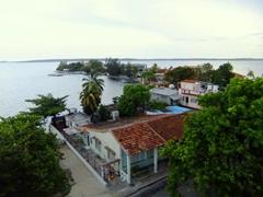 View of Punta Gorda, the south of Cienfuegos