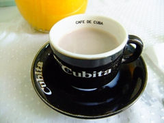 Starting off with a Cubita cafe is a nice way to start the day