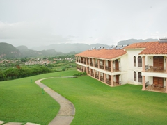 Hotel Ermita commands a nice view of Vinales