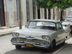 There are lots of fully functioning vintage cars in Cienfuegos