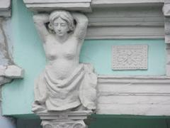 Detail of a Cienfuegos building