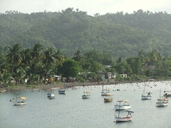 Fishermen's boats in a quaint bay about 5 minutes from our lovely casa particular