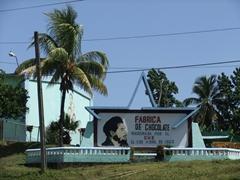A Che Chocolate Factory in Baracoa, a fertile cocoa producing region