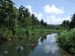 Beautiful scenery around every corner on our ride from Baracoa to Playa Maguana