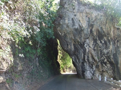 The German natural arch is located just beyond the Boca de Yumuri