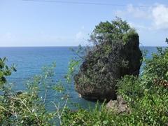 Rugged scenery near Boca de Yumuri