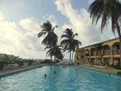 Swimming pool at Hotel Castillo