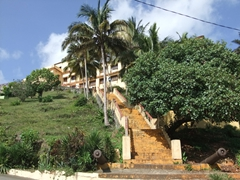 This used to be the Sanguily Fort but now is one of Baracoa's nicest hotels (Hotel Castillo)
