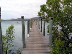 Jetty at Loloata Island