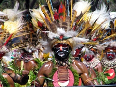 The Mount Hagen men are truly mesmerizing!
