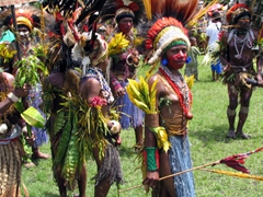 Colors Galore! The mighty Goroka Highland Show