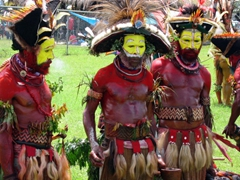 The Huli Wigmen steal the Goroka Show