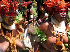 Another female tribe, Goroka Show