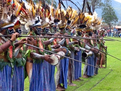 The Mount Hagen Men never fail to impress