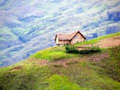 Pristine view in the Goroka Highlands