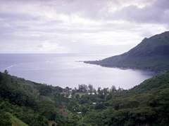 Another view of pretty Moorea