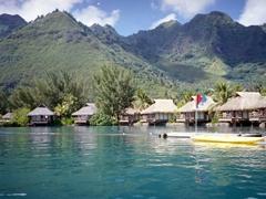 Overwater bungalows; Beachcomber Resort