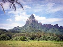 Mt Rotui, Moorea's scenic mountain