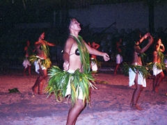 The ladies shake their stuff; Tiki Village