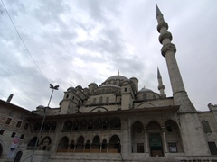 Yeni Cami (New Mosque) has an ironic name considering it was completed in 1665