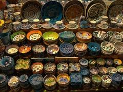 Porcelain souvenirs; Spice Bazaar