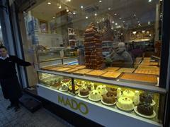 Desserts galore; Istiklal Avenue
