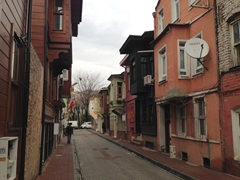 Our lodging in Sultanahmet, Black House Apartments