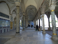The Topkapi Palace is the largest palace in Istanbul and was home to the Ottoman sultans for almost four centuries