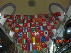 Flag display; Grand Bazaar
