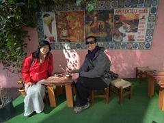 Ichiyo & Becky; Anadolu Cafe