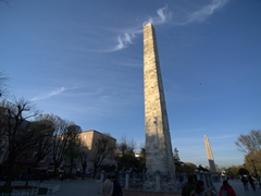 The Column of Constantine Porphyrogenitus; ancient Hippodrome of Constantinople